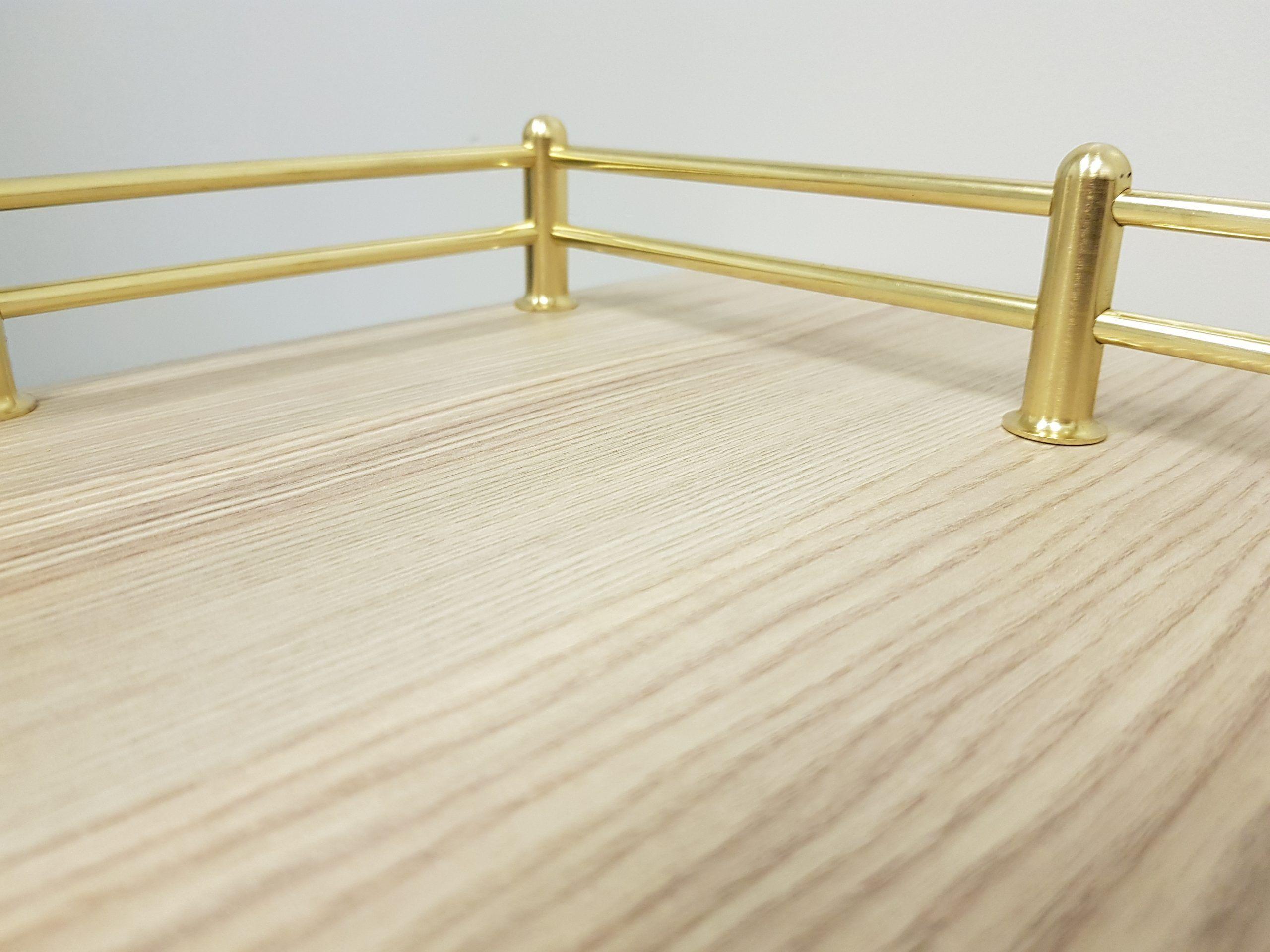 Brass Fiddle Rail